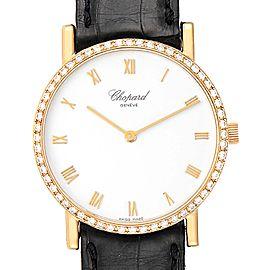 Chopard Classique Yellow Gold Diamond Mens Watch 3154