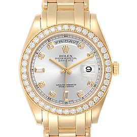 Rolex Day-Date Masterpiece Special Edition Yellow Gold Diamond Watch 18948