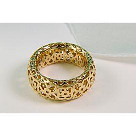 Tiffany & Co. 18K Yellow Gold Marrakesh Ring Size 8