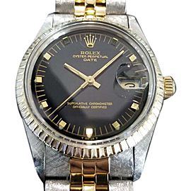 Rolex Oyster 15053 Vintage 34mm Mens Watch 1981