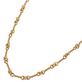 Chrome Hearts 22K Rose Gold Necklace