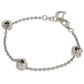 Damiani Sterling Silver Diamond Bracelet