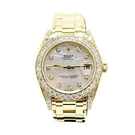 Rolex Pearlmaster 81158 34mm Unisex Watch