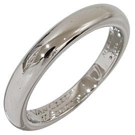 Van Cleef & Arpels Platinum Ring Size 8