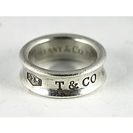 Tiffany & Co. 925 Sterling Silver 1837 Ring Size 5.5