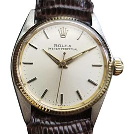 Rolex Oyster Perpetual 6551 Vintage 31mm Unisex Watch