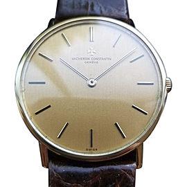 Vacheron Constantin Geneve 39009 Vintage 33mm Mens Watch