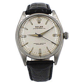 Rolex Oyster Perpetual 6565 Vintage 34mm Mens Watch