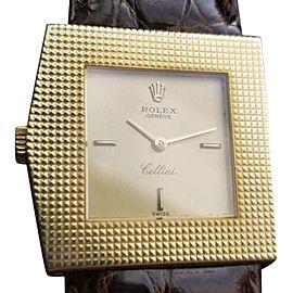 Rolex Cellini 4126 Vintage 28mm Womens Watch