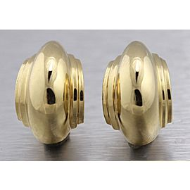 Tiffany & Co. Paloma Picasso 18K Yellow Gold Shell Earrings