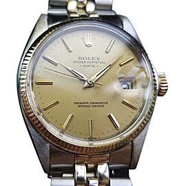 Rolex Oysterdate 1500 Vintage 34mm Mens Watch
