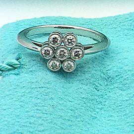 Tiffany & Co. Diamond Platinum Diamond Ring Size 6