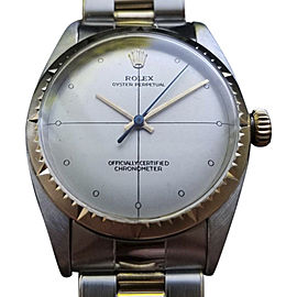Rolex Oyster Perpetual 6582 Vintage 34mm Mens Watch