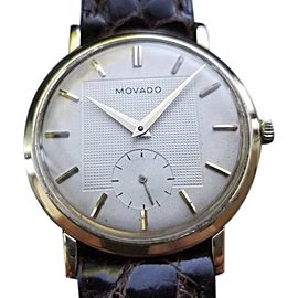 Movado Dress Vintage 33mm Mens Watch