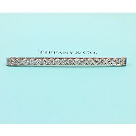 Tiffany & Co. Vintage Diamond and Platinum Pin Brooch Old European Cuts 4.60 tcw