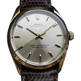Rolex Oyster Perpetual 1024 Vintage 34mm Mens Watch