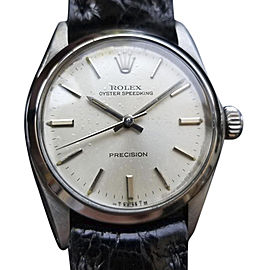 Rolex Oyster Speedking Precision 6430 Vintage 30mm Unisex Watch