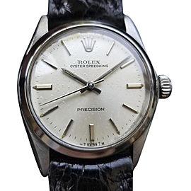 Rolex Oyster Speedking Precision 6430 Vintage 30mm Unisex Watch