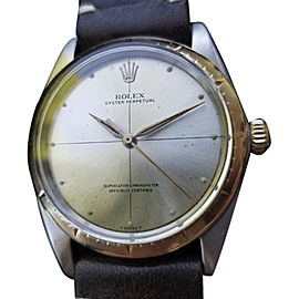 Rolex Oyster Perpetual 1008 Vintage 34mm Mens Watch
