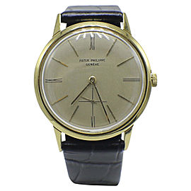 Patek Philippe Calatrava 3407 34mm Mens Watch