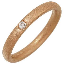 Pomellato 18K Rose Gold Diamond Ring Size 4.75