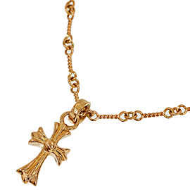 Chrome Hearts 2K Yellow Gold Necklace