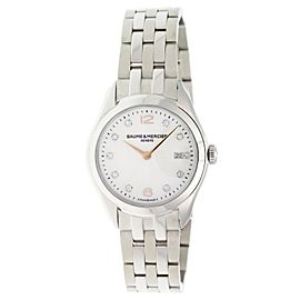 Baume & Mercier Clifton MOA10176 32mm Womens Watch