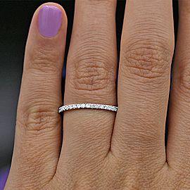 Classic White Gold Diamond Wedding Band BA-3500