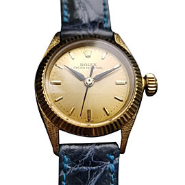 Rolex Oyster Perpetual 6618 Vintage 24mm Womens Watch