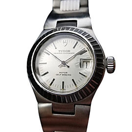 Tudor Princess Oysterdate 7585 Vintage 26mm Womens Watch