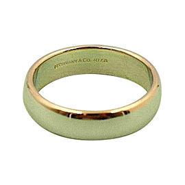 Tiffany & Co. Classic 18K Yellow Gold Wedding Ring Size 10