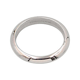Tiffany & Co. 950 Platinum Wedding Band Ring Size 10.5