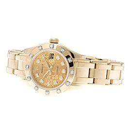 Rolex Pearlmaster 80318 29mm Womens Watch