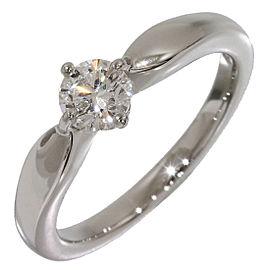 Bulgari Bvlgari Platinum Diamond Ring Size 4.25