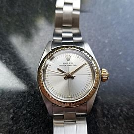 Rolex Oyster 6724 Vintage 25mm Womens Watch