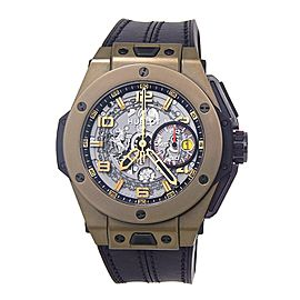 Hublot Big Bang Ferrari Magic Gold 401.MX.0123.VR 45mm Mens Watch