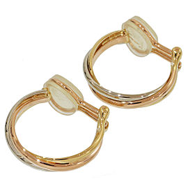 Cartier Trinity de Cartier 18K Tri-Color Gold Earrings