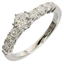 Vecchio Platinum Diamond Ring Size 5.5