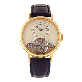 Breguet Tourbillon 357BA/12/986 36mm Mens Watch