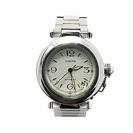 Cartier Pasha W31074M7 35.0mm Mens Watch
