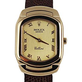 Rolex Cellini Geneve 6631 Vintage 24mm Womens Watch