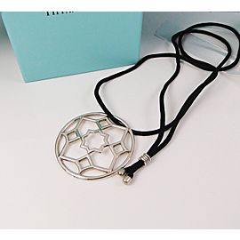 Tiffany & Co. Paloma Picasso Sterling Silver Zellige Pendant Necklace