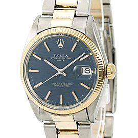 Rolex Date 1500 Vintage 34mm Mens Watch