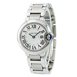 Cartier Ballon W69010Z4 28mm Womens Watch