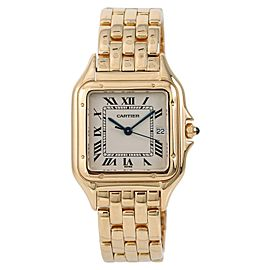 Cartier Panthere W25014B9 28mm Mens Watch