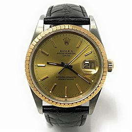 Rolex Date 15223 34mm Mens Watch