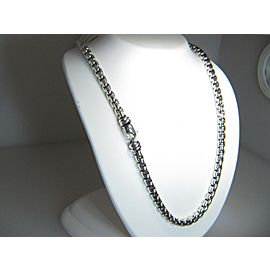 David Yurman Sterling Silver Necklace