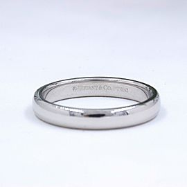 Tiffany & Co. Platinum Wedding Ring Size 5