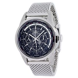 Breitling Transocean Unitime AB0510U4/BE84 46mm Mens Watch