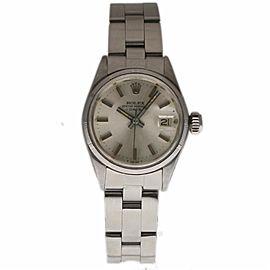 Rolex Date 6519 Vintage 26mm Womens Watch